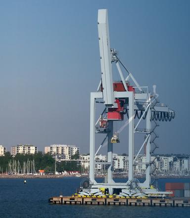 Marine Coupling for crane
