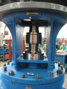 Vertical Clamp Coupling - short spacer