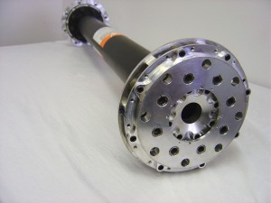 High speed coupling with machined weight reduction - test stands