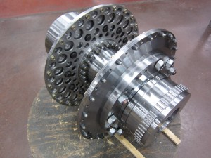 API 671 coupling with timing teeth - petrochemical