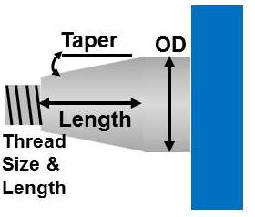 Tapered Shaft - quotation