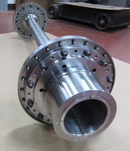 FLEXXOR coupling with Quill Shaft spacer - quill shafts
