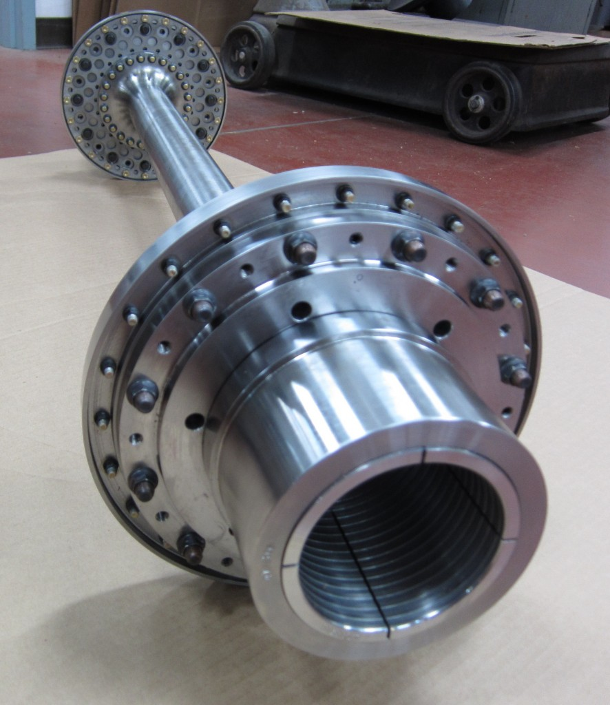 FLEXXOR coupling with Quill Shaft spacer