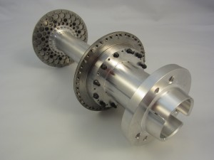 High speed coupling - titanium and aluminum