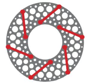 FLEXXOR flexible shaft coupling diaphragm